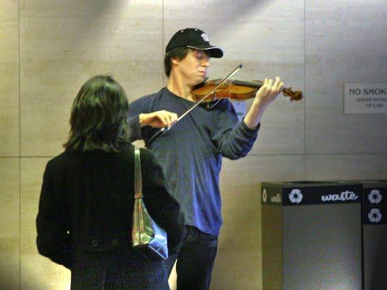 Keine Zeit für das Spiel von Joshua Bell