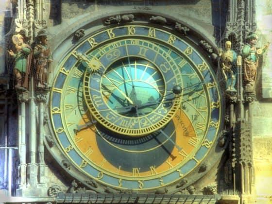 Zeit-Astrologische Uhr Prag